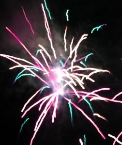 Fireworks - pink