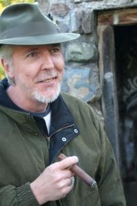J. Conrad Guest and cigar
