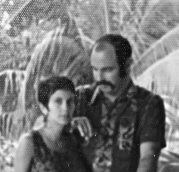 An old grainy shot of us in Senegal in 1974