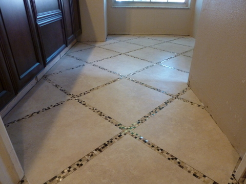 Glass Mosaic Tile Floor Choice Image - modern flooring pattern texture