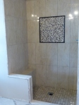 Mosaic and Tile-Shower