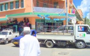 Street scene near Kariakoo Market