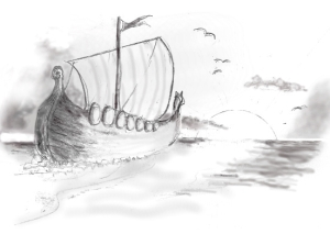 Viking Ship Inkist2