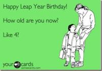 leap year birthday