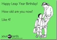 leap year birthday