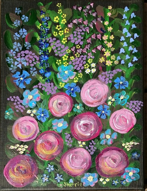 Painting - Flowers