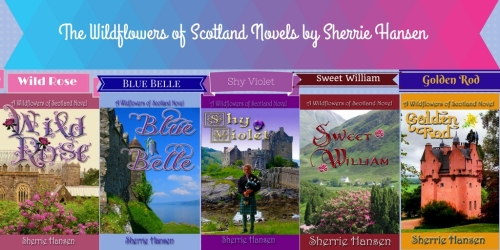 Wildflowers of Scotland Novels by Sherrie Hansen (3)