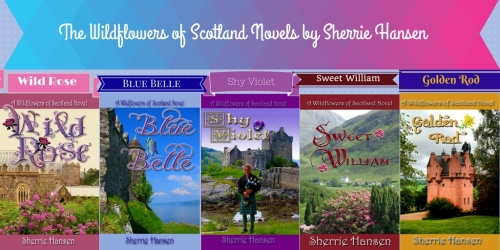 Wildflowers of Scotland Novels by Sherrie Hansen (2)